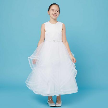 Sleeveless Communion Dress