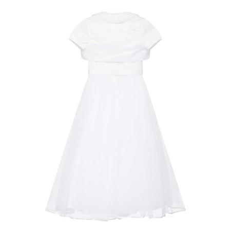 Two-Piece Bow Waist Communion Dress