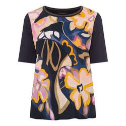 Abstract Print T-Shirt
