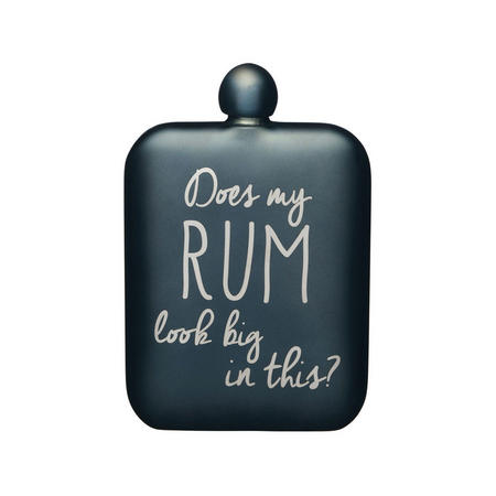 Does My Rum Look Big In This Hip Flask