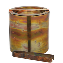 Small Copper Ice Bucket With Lid