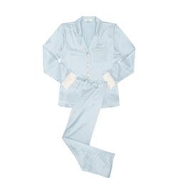 Piped Silk Pyjamas