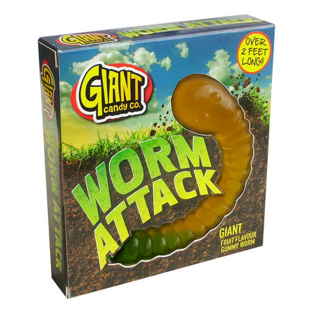 Giant Worm Attack