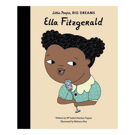 Little People, Big Dreams; Ella Fitzgerald Book