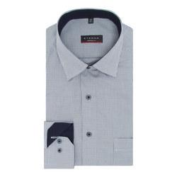 Micro Geometric Print Shirt
