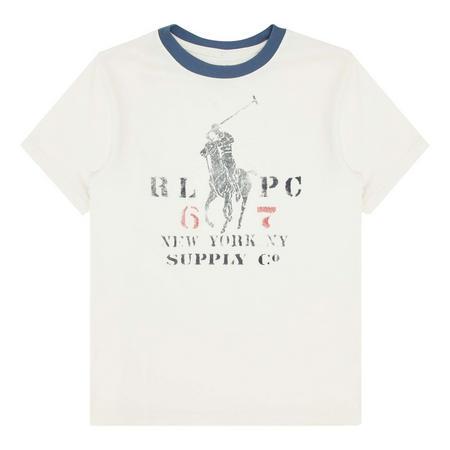 Ringer Graphic T-Shirt Boys