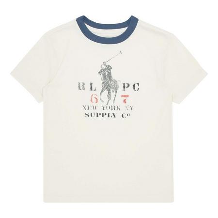 Ringer Crew Neck T-Shirt Boys