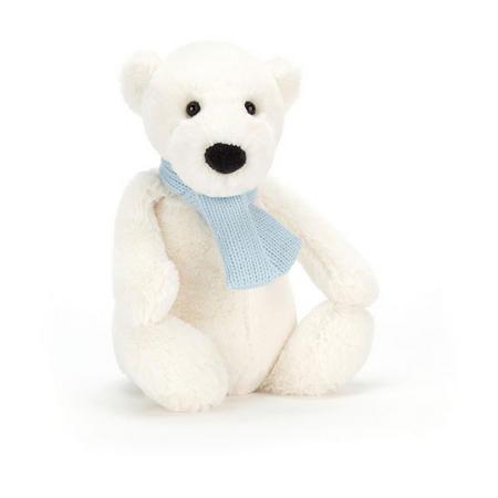 Bashful Winter Polar Bear 25cm