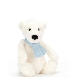 Bashful Winter Polar Bear 25 cm