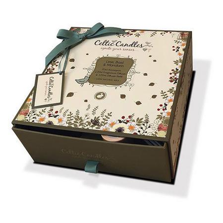 Lime Basil and Mandarin Three Piece Gift Set