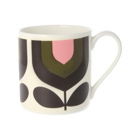 Stripe Tulip Mug
