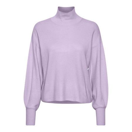 Wanetta Balloon Sleeve Sweater