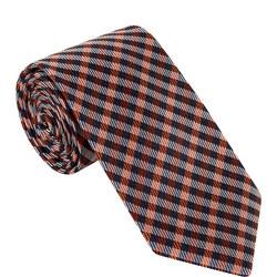 Tweed Check Silk Tie