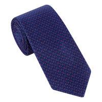 Woven Dot Silk Tie
