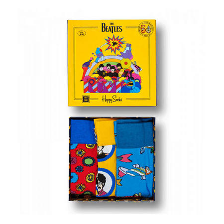 Three-Pack The Beatles Socks Box Set