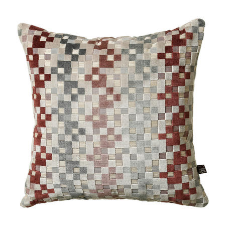 Puzzle Cushion Blush 50 x 50cm