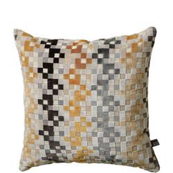 Puzzle Cushion Ochre