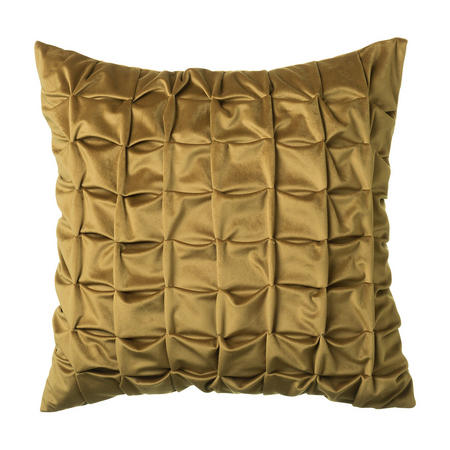 Origami Cushion Antique Gold  45 x 45cm