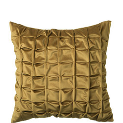 Origami Cushion Antique Gold