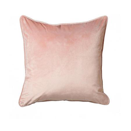 Belini Velour Cushion Blush  58 x 58cm