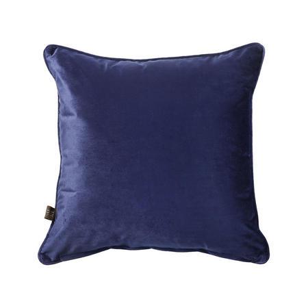 Belini Velour Cushion Royal Blue 45 x 45cm
