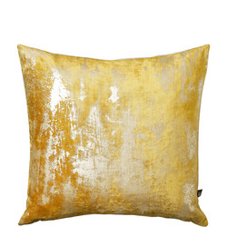 Moonstruck Cushion Ochre 43cm x 43cm