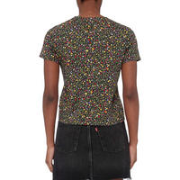 Graphic Floral Cropped T-Shirt