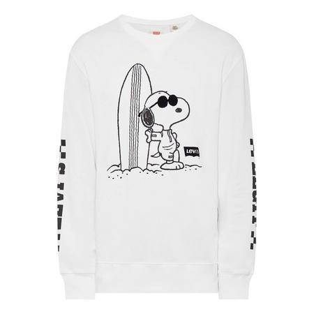 Surfboard Snoopy Sweat Top