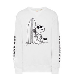Surfboard Snoopy Sweat Top