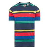 Striped Logo T-Shirt