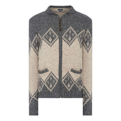 William Fairis Zip Through Sweater