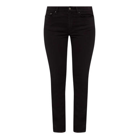 Straight Sateen Trousers
