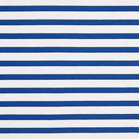 Striped Peplum Cuff Top