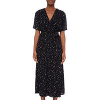 Piper Pleated Wrap Dress