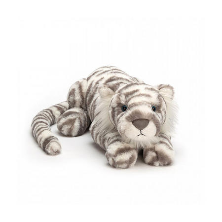 Sacha Snow Tiger 74cm