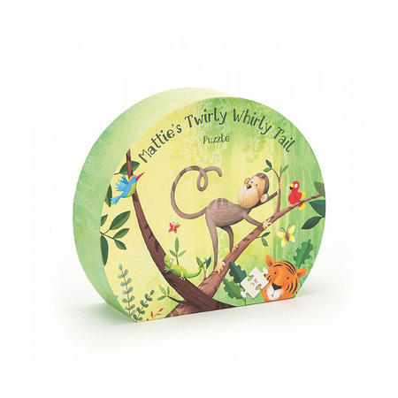 Mattie's Twirly Whirly Tail Jigsaw Puzzle