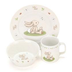 Bashful Bunny Dinner Set