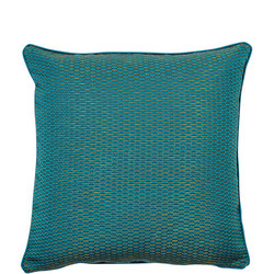 Woven Cushion Teal 43cm x 43cm