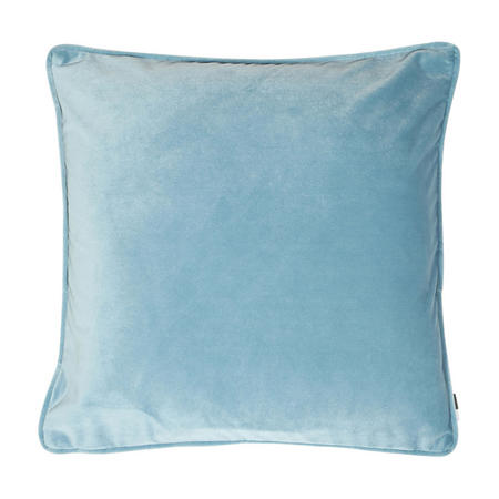Velvet Piped Cushion Ocean 43cm x 43cm
