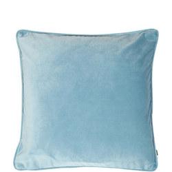 Velvet Piped Cushion Ocean 43cm x 43cm