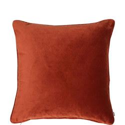 Velvet Piped Cushion Paprika 43cm x 43cm