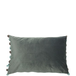 Double Sided Velvet Cushion Seafoam-Ocean  40 x 60cm