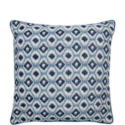 Sari Jacquard Cushion Blue