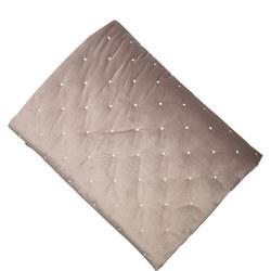 Luxury Velvet Quilt Silver