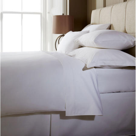 1000 Thread Count Flat Sheet White