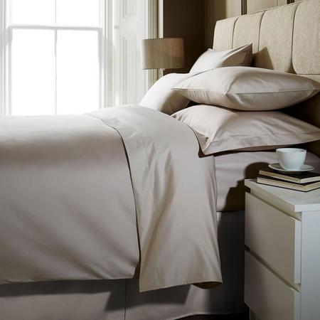 1000 Thread Count Super King Pillowcase Flax