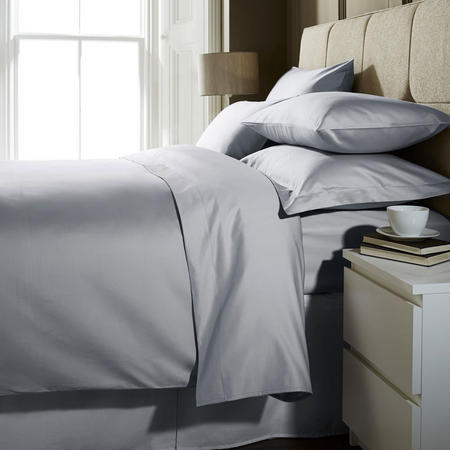 1000 Thread Count Housewife Pillowcase Ice Grey