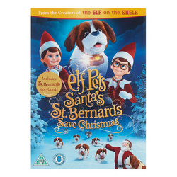 Elf Pets Santa's Bernards Save Christmas DVD