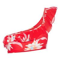 Floral Off-Shoulder Bikini Top
