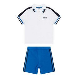 Polo Shirt And Shorts Outfit Set